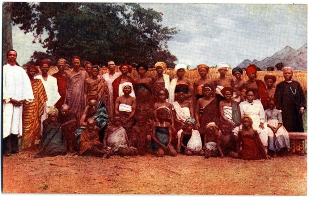 Church congregation, Nigeria